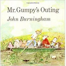 廖彩杏书单:Mr. Gumpy's Outing Board Book 和甘伯伯去游河